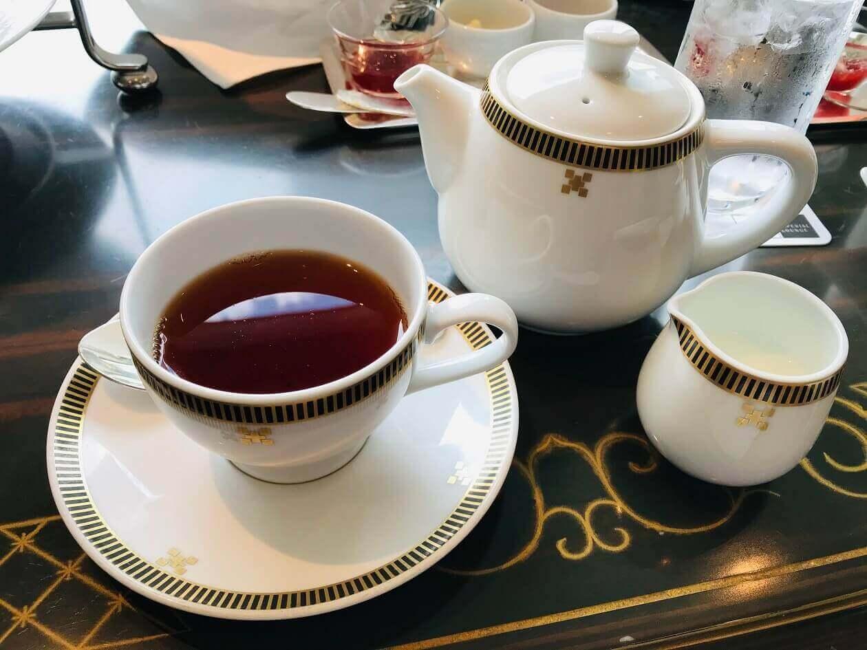 帝国ホテルの紅茶